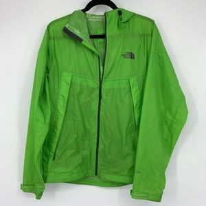 The North Face Green Hyvent 2.5L Jacket